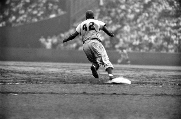Dodger Jackie Robinson changed baseball in many ways.