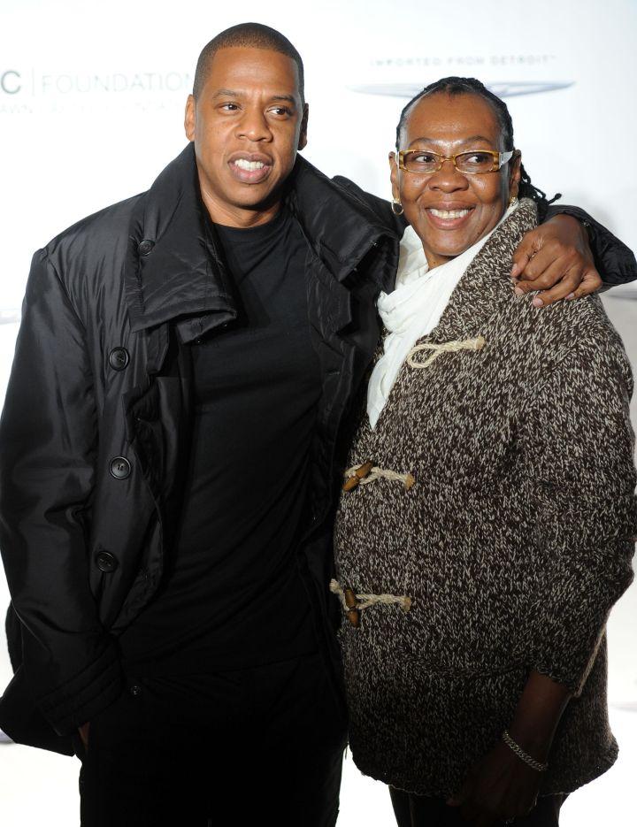 Jay Z & Gloria Carter