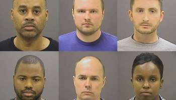 Six officers charged in Freddie Gray death