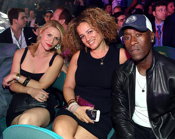 Claire Danes, Bridgid Coulter and Don Cheadle