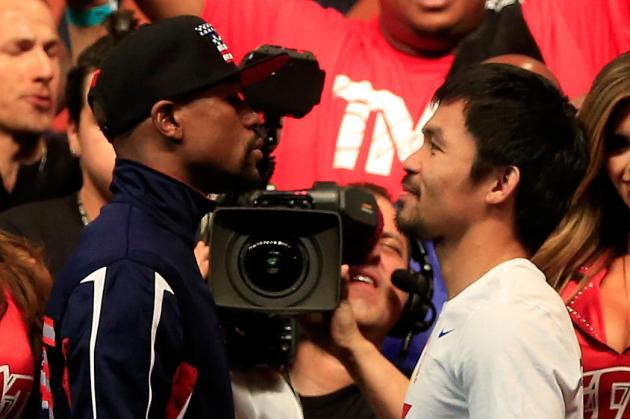 Mayweather Pacquiao fight