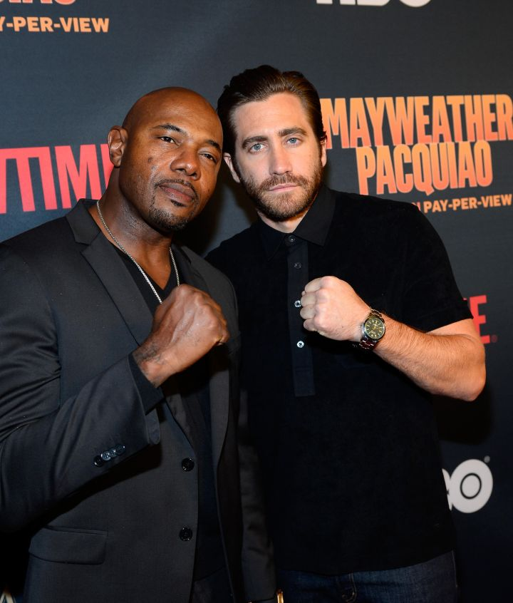 Antoine Fuqua and Jake Gyllenhaal
