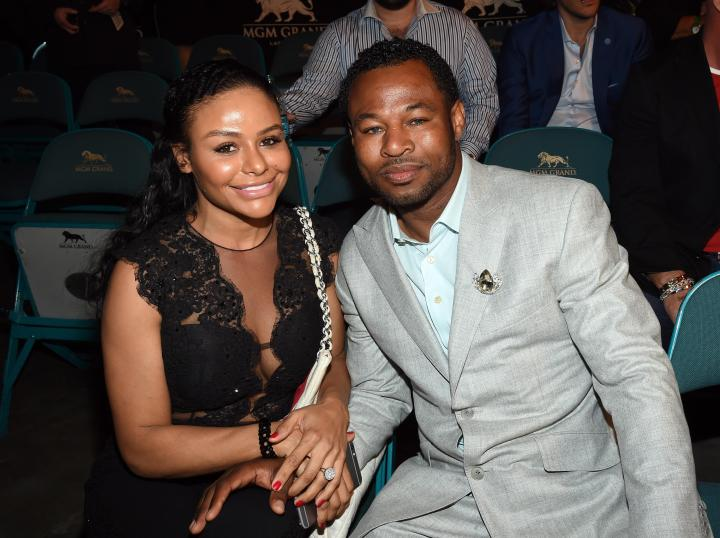 Boxer Shane Mosley and Bella Gonzalez