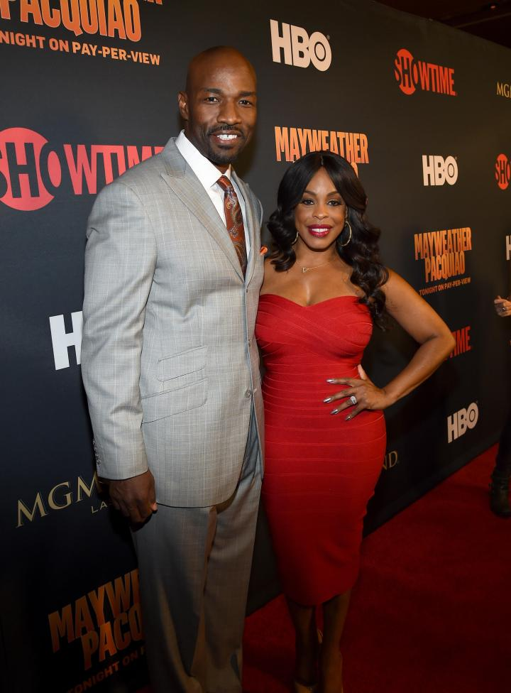 Comedian Niecy Nash and Jay Tucker