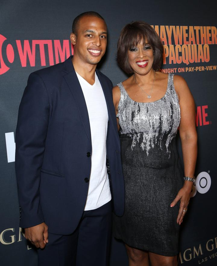 William Bumpus Jr. and TV personality Gayle King