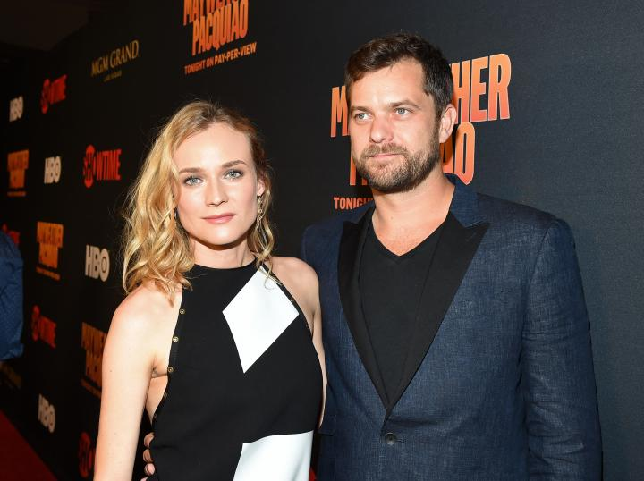 Actress Diane Kruger and actor Joshua Jackson