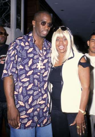 Diddy and mom