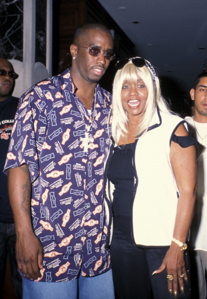 Puff Daddy & Janice Combs