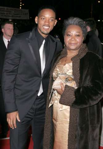 Will Smith and mom