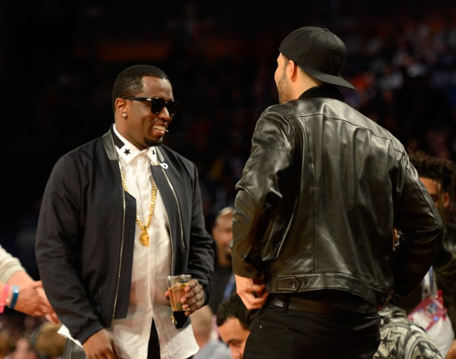 Celebrities Attend The 63rd NBA All-Star Game 2014