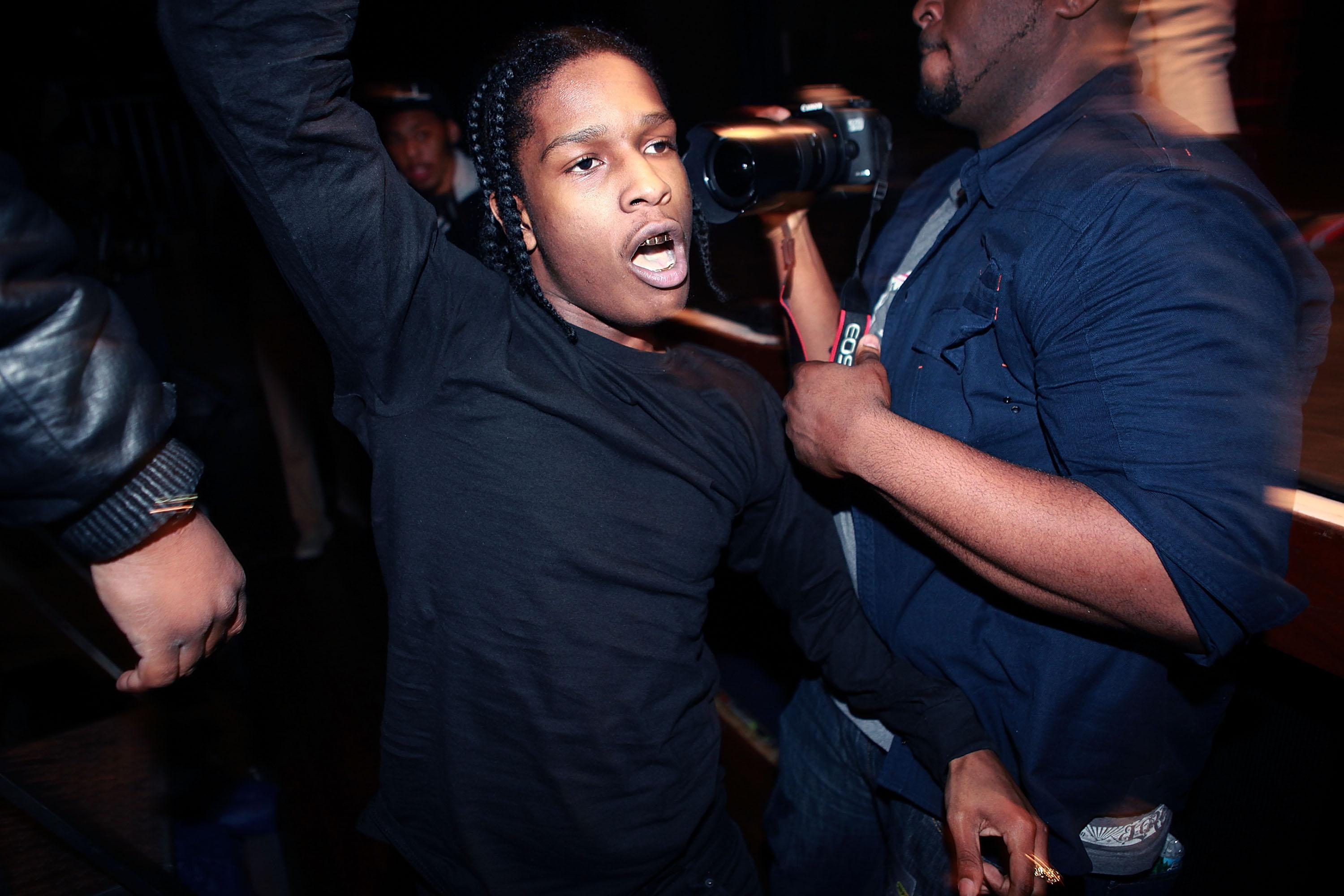 A-Track And A$AP Mob In Concert - New York, NY