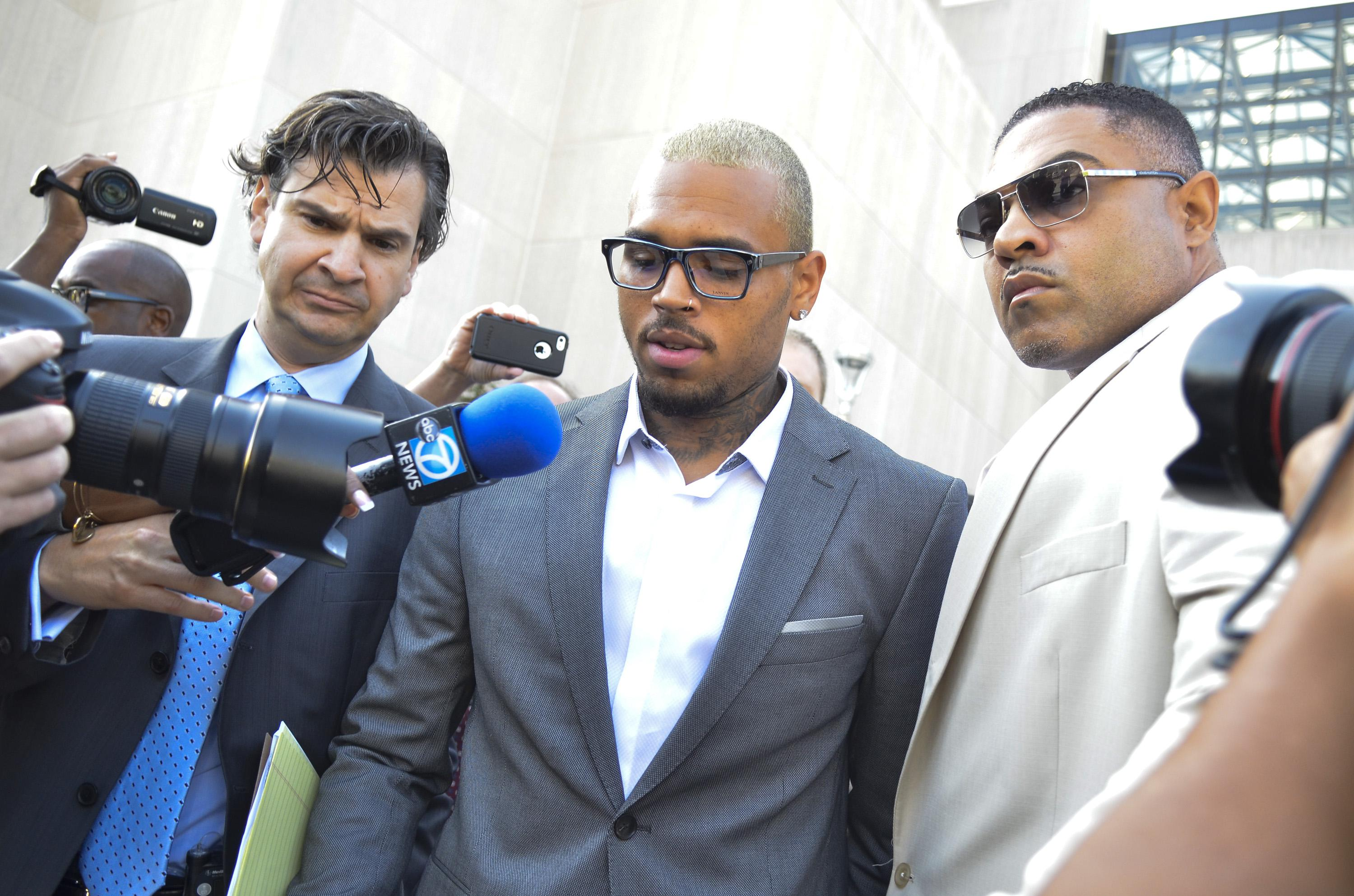 Chris Brown Court Date