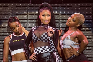 Nicki Minaj performs at 2015 X Games in Austin