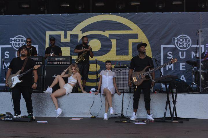 Trey Songz's Band