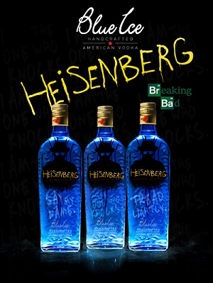 Blue Ice Vodka Heisenberg