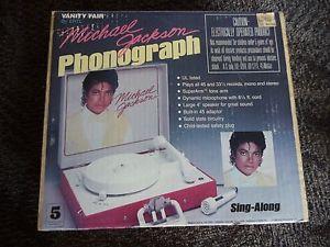 Michael Jackson record player