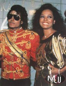 Michael Jackson signed AMA photo