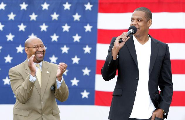 Philadelphia Mayor Michael Nutter & Jay-Z Make Major Announcement