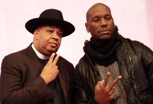 Tyrese & Rev. Run Visit BET's '106 & Park'