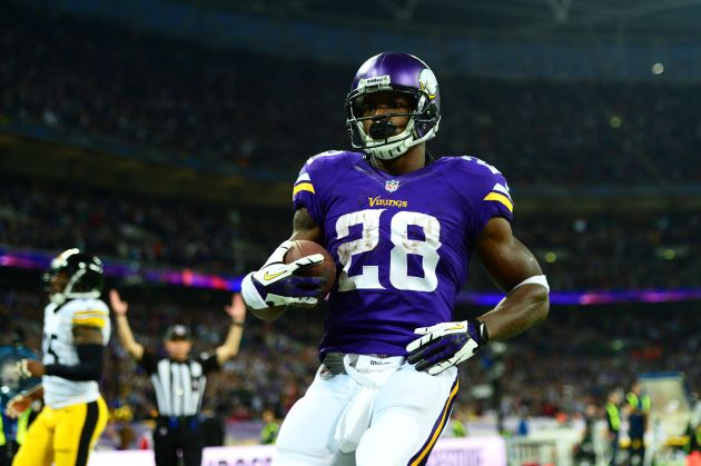 Adrian Peterson is going to OTAs.