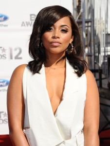 Lauren London at the 2012 BET Awards