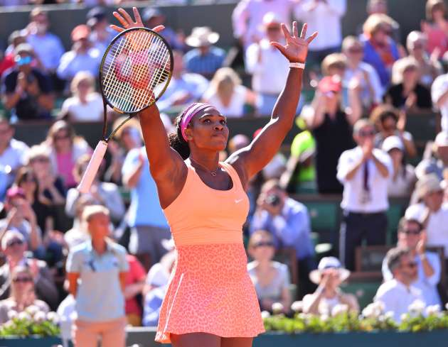 2015 French Open - Serena Williams
