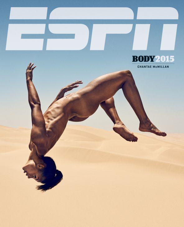 Chantae McMillan, ESPN Body Issue