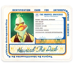 Howard the Duck #1 artwork by Juan Doe (Ol' Dirty Bastard's Return to the 36 Chambers: The Dirty Version)