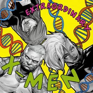 Extraordinary X-Men #1 artwork by Sanford Green (De La Soul's 3 Feet High and Rising)