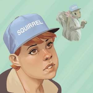 The Unbeatable Squirrel Girl #1 artwork by Phil Noto (Tyler, the Creator's Wolf)