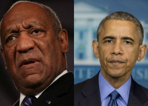 Obama and Cosby
