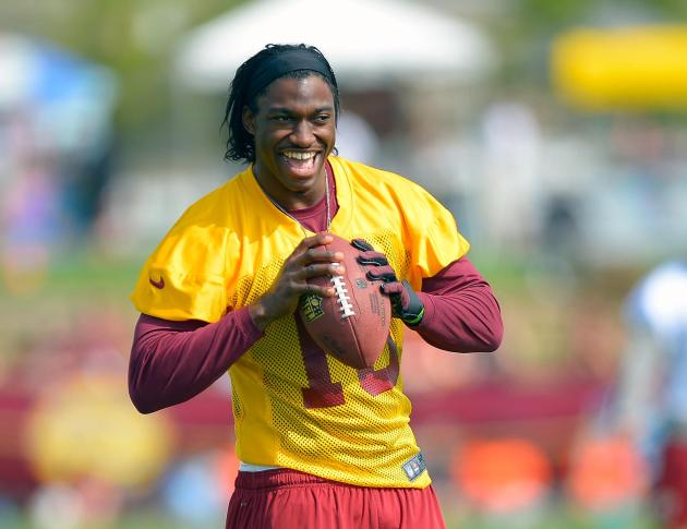 Redskins training camp day 1