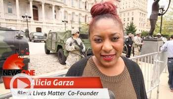 alicia garza, Baltimore coverage