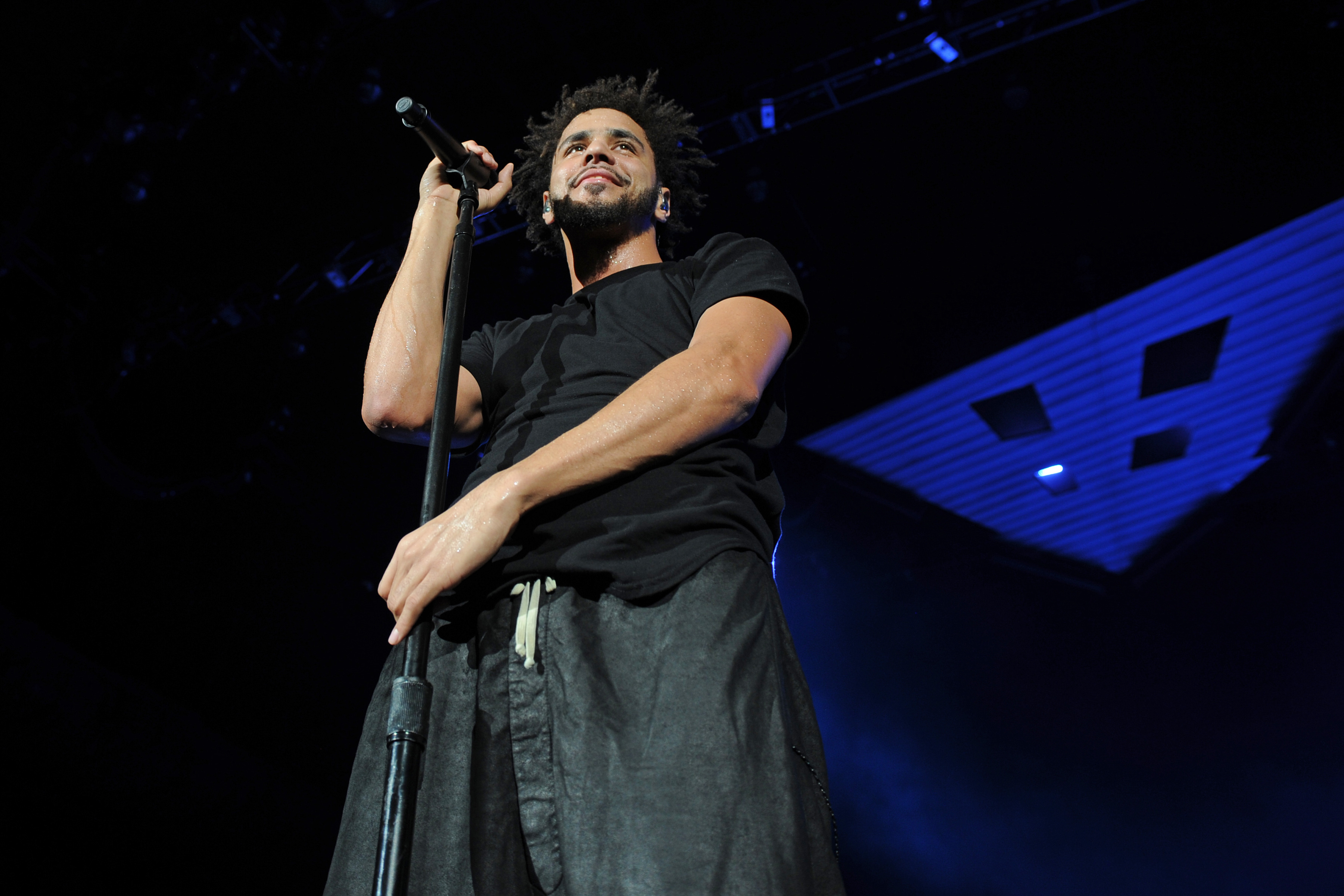 J Cole Performs In West Palm Beach