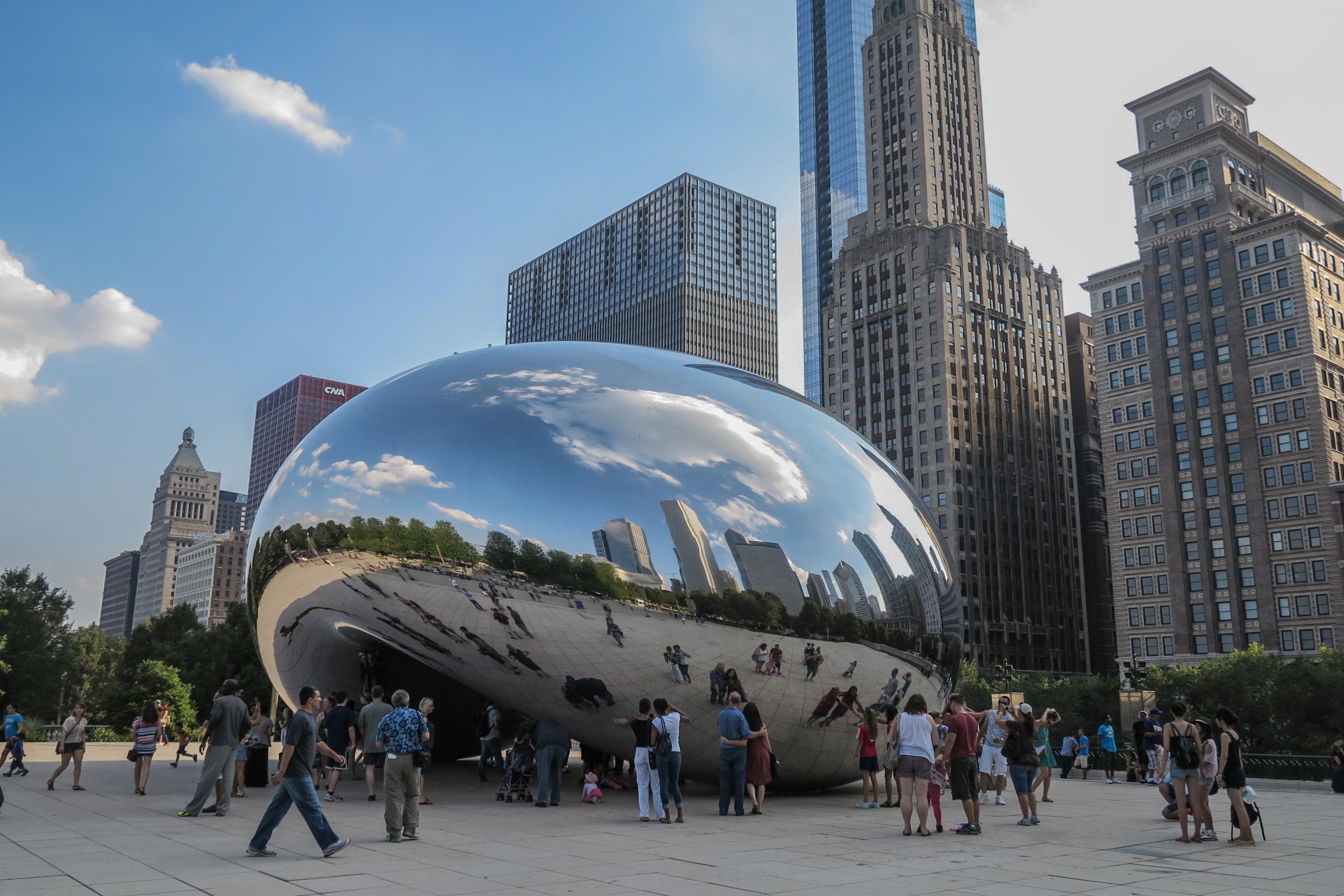 Cloud Gate at Millennium Park, Chicago