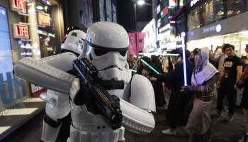Force Friday: May The Force Be With Shopping District In Seoul