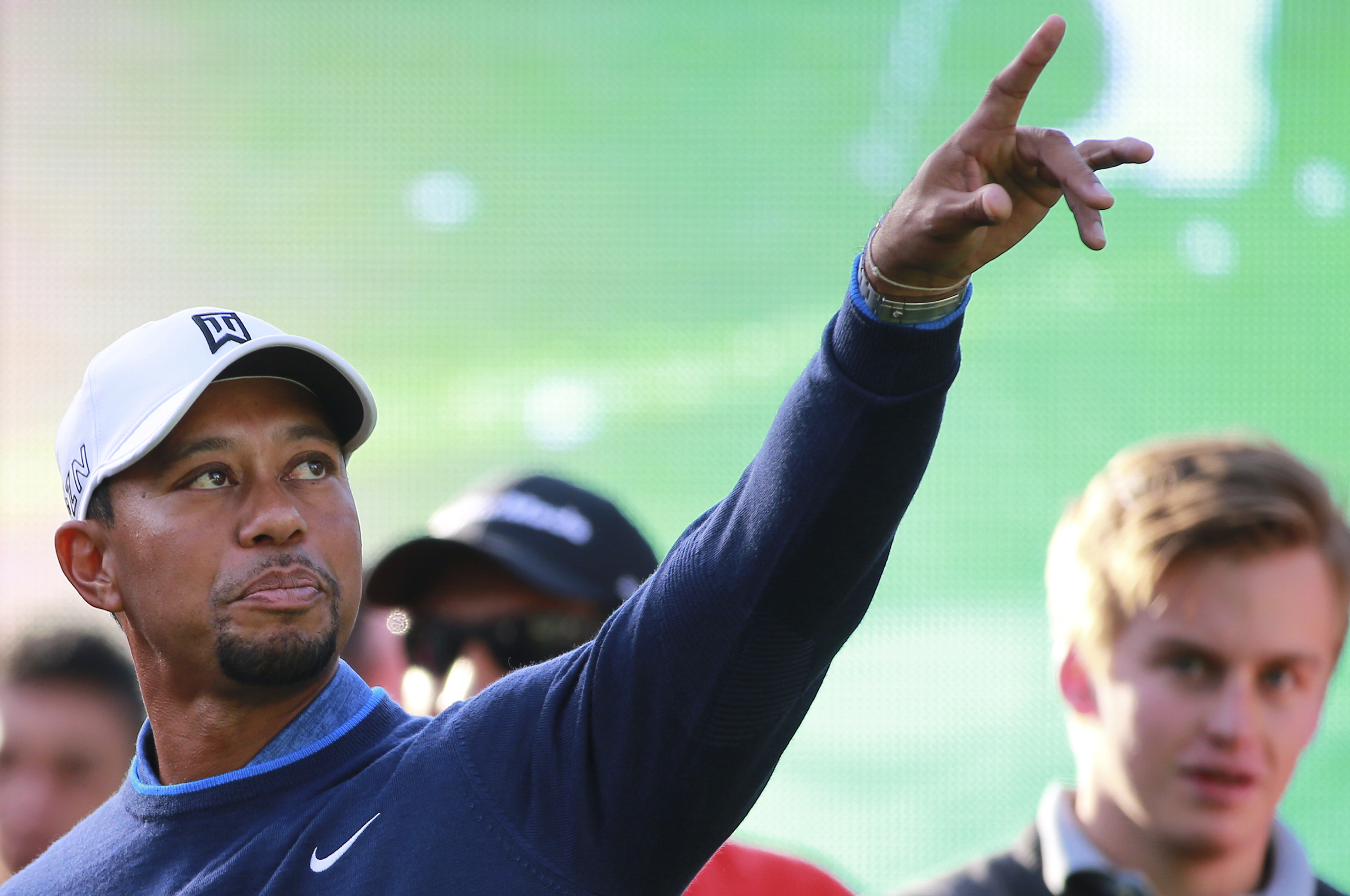 Tiger Woods Golf Clinic in Mexico City