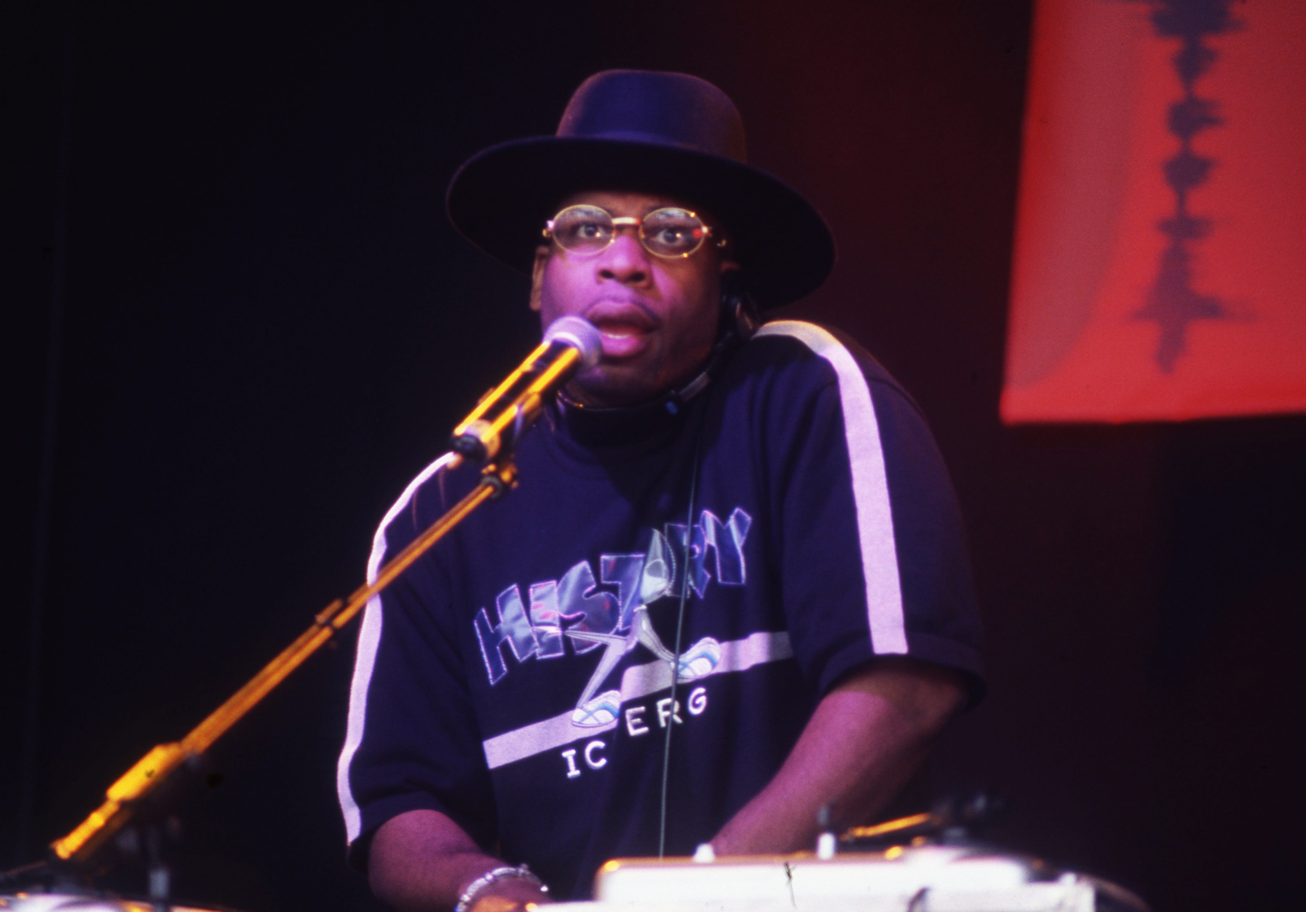 Jam Master Jay Playing With Run DMC Finsbury Park (Respect Festival) London 2001