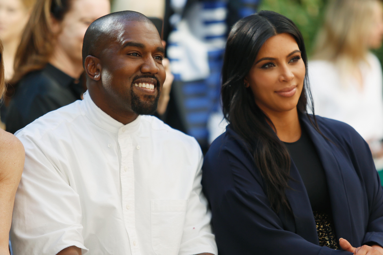 Kanye West & Kim Kardashian Hang Out With Alton Sterling's Son