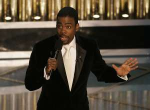 Oscar host Chris Rock during the 77th Annual Academy Awards at the Kodak Theatre in Los Angeles, Ca