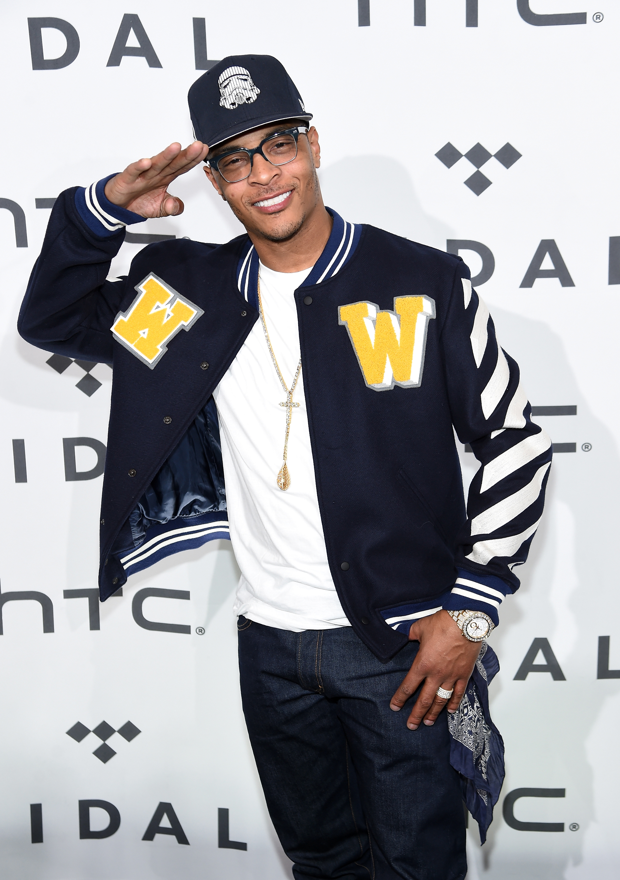 Celebrities arrive to the Tidal X 10/20 show in Brooklyn
