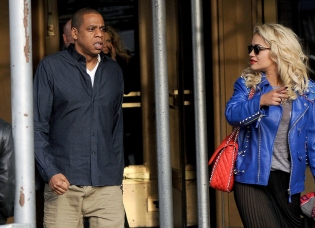 Rita Ora and Jay Z