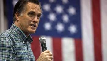 Mitt Romney Campaigns With AK Senate Candidate Dan Sullivan In Anchorage