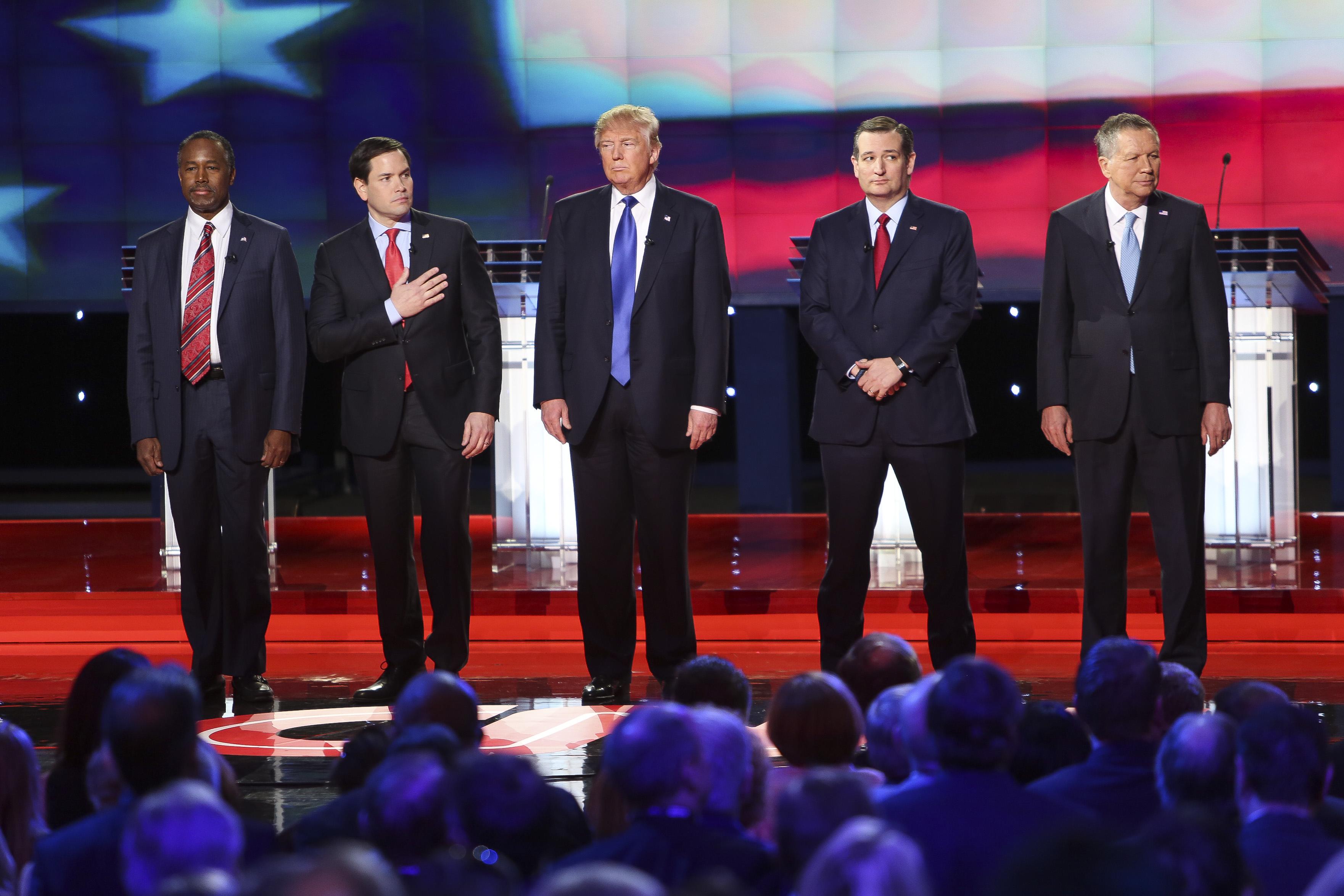 Republican Presidential Candidates Debate In Houston, Texas