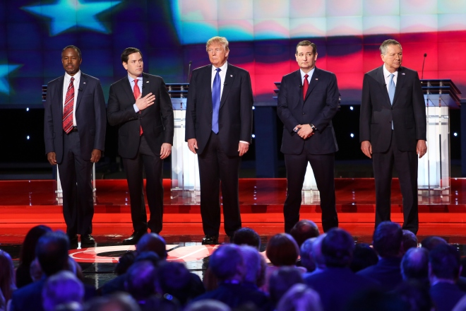 Marco Rubio And Donald Trump Sparr Over Height And Hand-Size | Boom ...