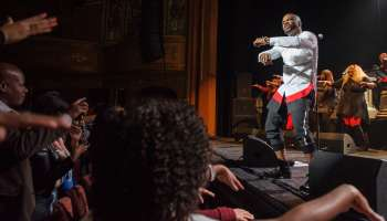 Kirk Franklin Performs at the Warner Theatre in Washington, D.C.