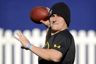 Johnny Manziel Workout