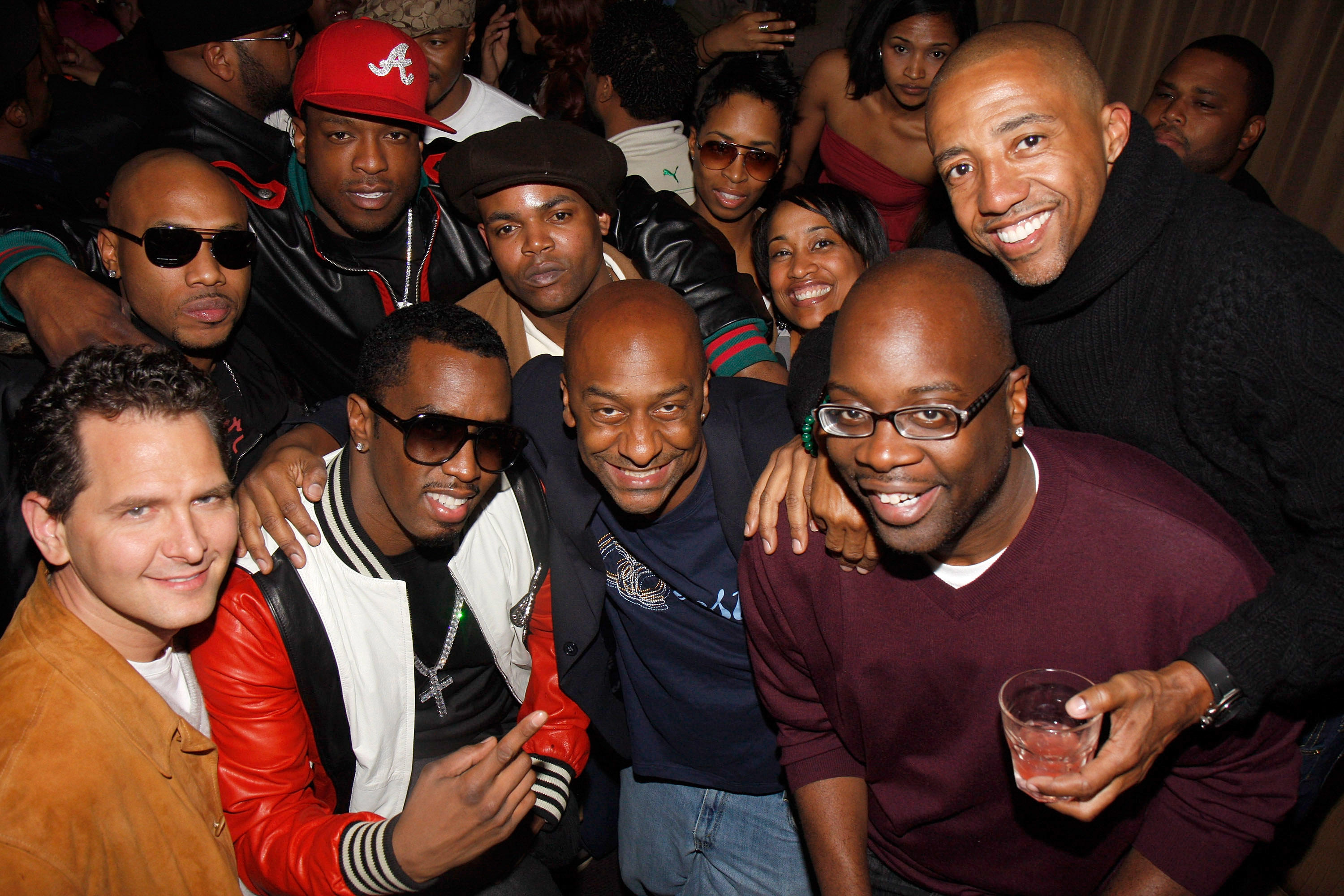 Sean Diddy Combs, Kevin Liles, Stephen Hill, Harve Pierre