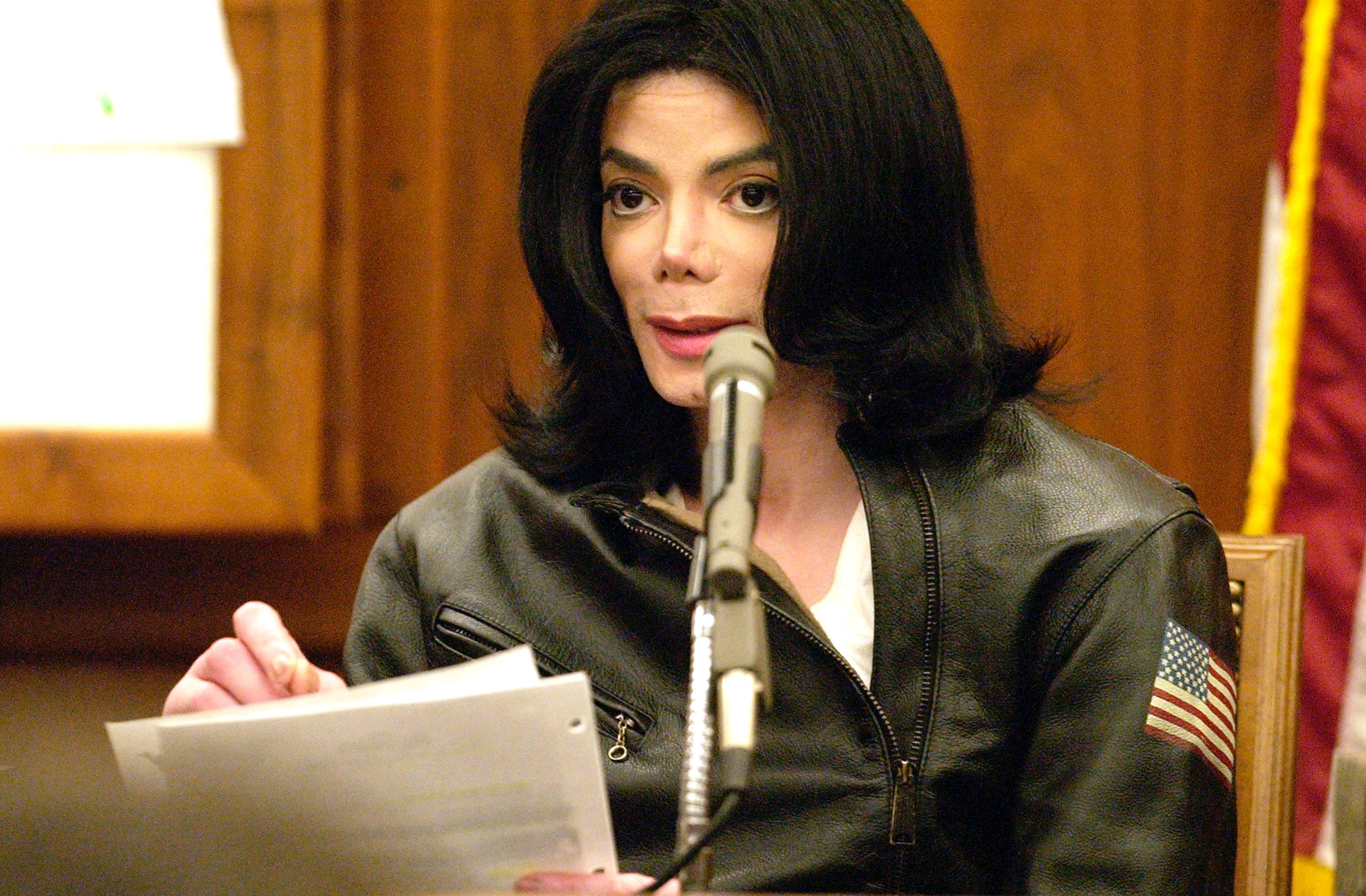 Michael Jackson Testifies At Trial