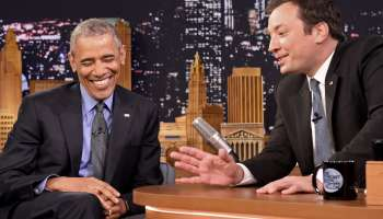 Barack Obama Visits NBC's 'The Tonight Show Starring Jimmy Fallon'